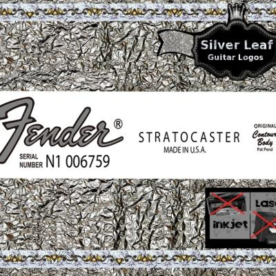 103s Fender Stratocaster Made In U.s.a Guitar Decal