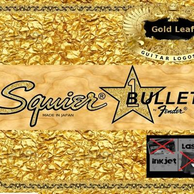114g Squier Bullet Bass Guitar Decal