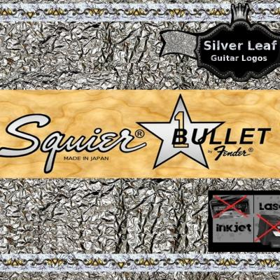 114s Squier Bullet Bass Guitar Decal