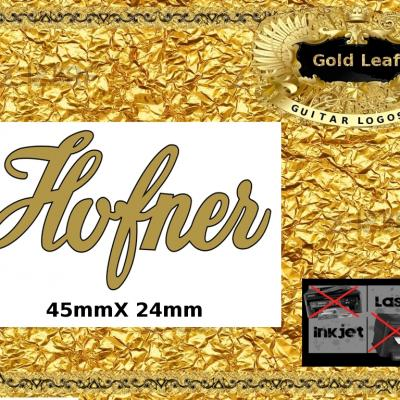 131g Hofner Guitar Decal