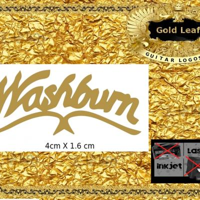 133g Washburn Guitar Decal