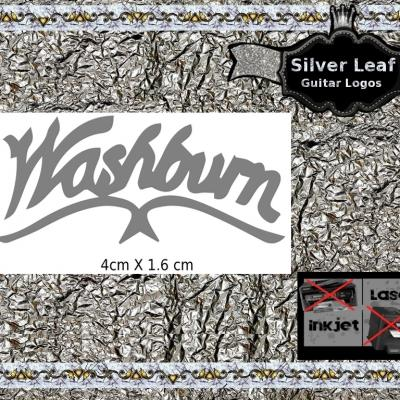 133s Washburn Guitar Decal