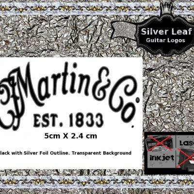 141s Martin And Co. Guitar Decal