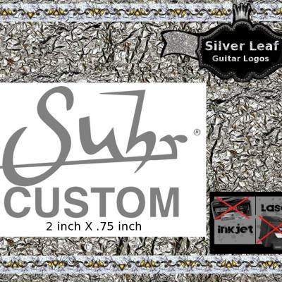 145s Suhr Custom Guitar Decal