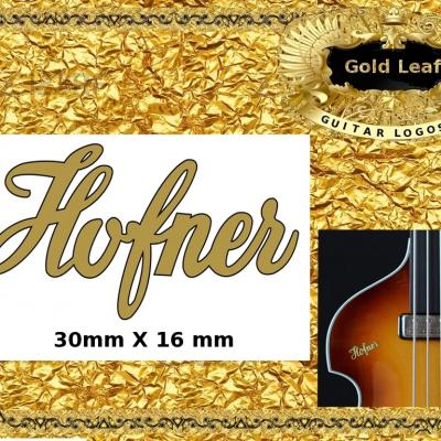 147g Hofner Guitar Decal