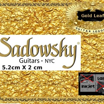 150g Sadowsky Guitar Decal