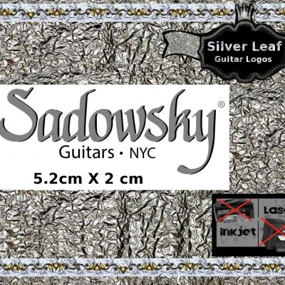 150s Sadowsky Guitar Decal