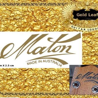 153g Maton Guitar Decal