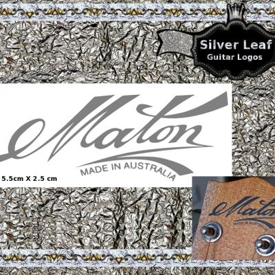 153s Maton Guitar Decal