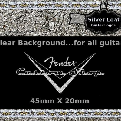 56s Custom Shop Decal Silver
