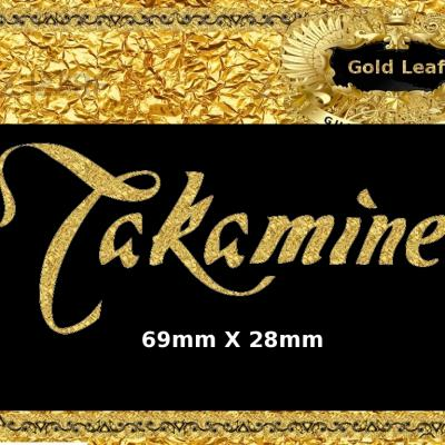 58g Takamine Guitar Decal