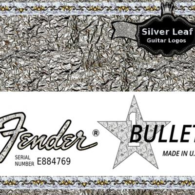59s Fender Bullet Guitar Decal