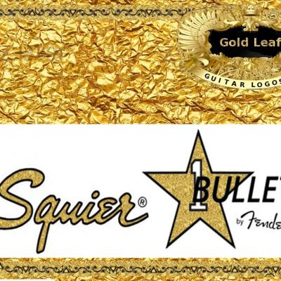 62g Squier Bullet Guitar Decal