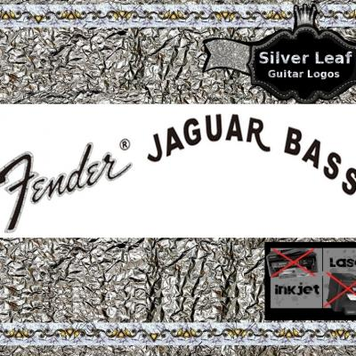 64s Fender Jaguar Bass Guitar Decal