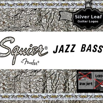 65s Squire Jazz Bass Guitar Decal