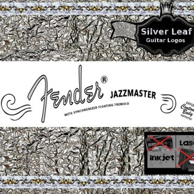 66s Fender Jazzmaster Guitar Decal