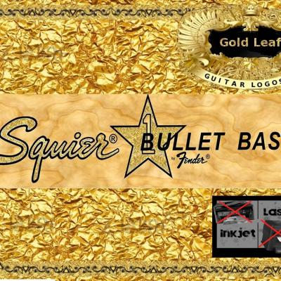 73g Squier Bullet Bass Guitar Decal