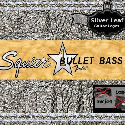 73s Squier Bullet Bass Guitar Decal