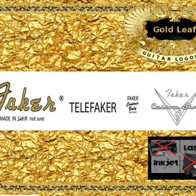 80g Faker Telefaker Guitar Decal
