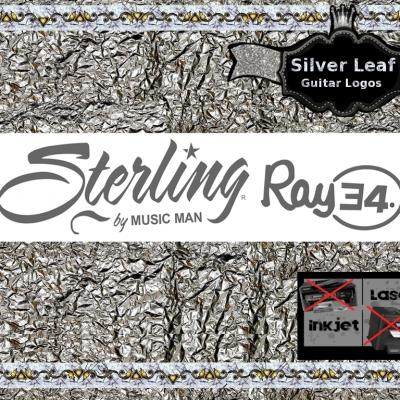 95s Musicman Sterling Ray 34 Guitar Decal