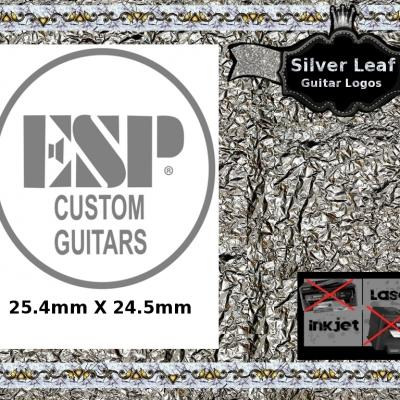 98s Esp Custom Guitar Decal