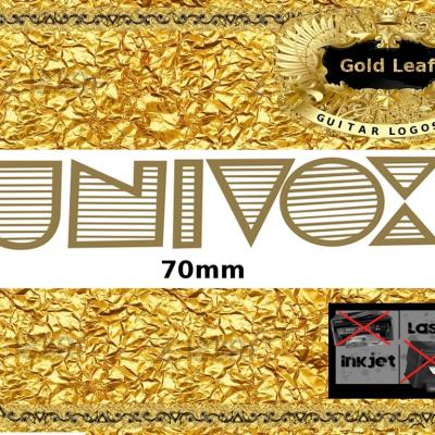 99g Univox Guitar Decal Waterslide