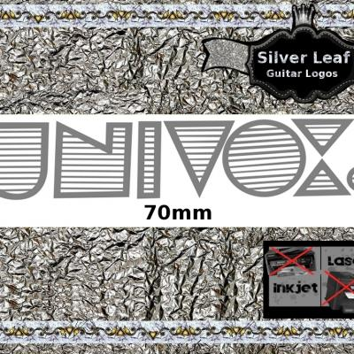 99s Univox Guitar Decal Waterslide