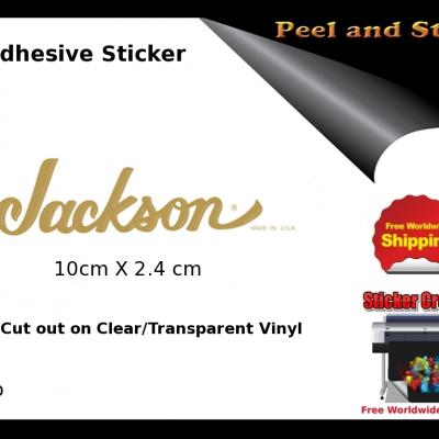 V10b Jackson Guitar Decal Sticker