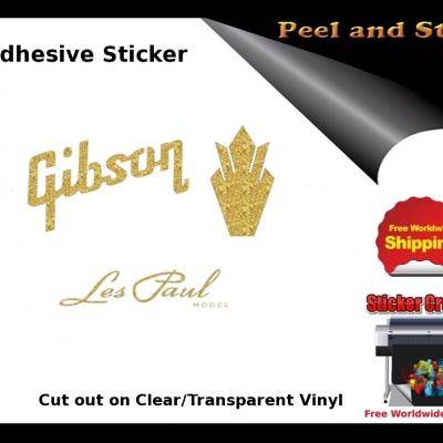 V11 Gibson Guitar Decal