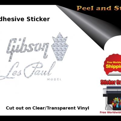 V13b Gibson Guitar Decal