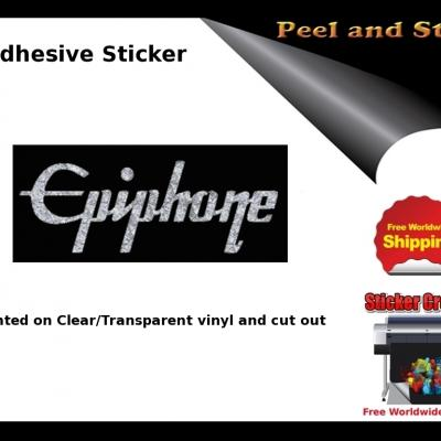 V17b Epiphone Guitar Sticker