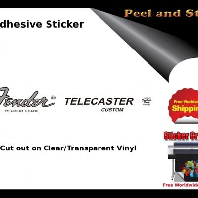 V28b Fender Telecaster Custom Guitar Decal