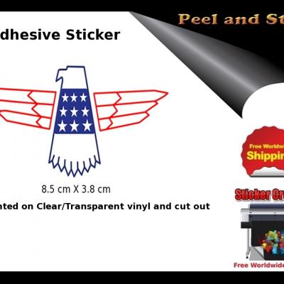 V35b Gibson Thunderbird Firebird Guitar Sticker