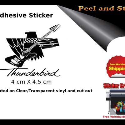 V39b Gibson Thunderbird Firebird Guitar Sticker