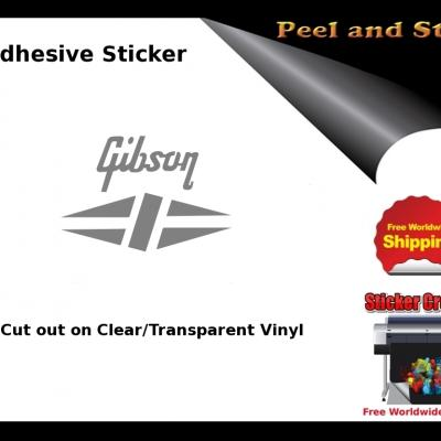 V7b Gibson Guitar Decal Sticker