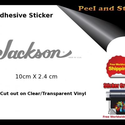 V9b Jackson Guitar Decal Sticker