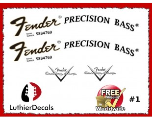 Fender Precision Decals
