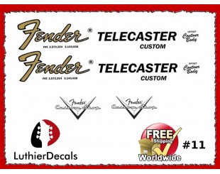 Fender Telecaster Decals