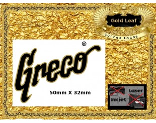 Greco Guitar Decals
