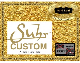 Suhr Guitar Decal