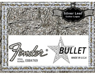 Fender Bullet Guitar Decal