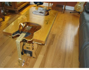 Fender Guitar Coffee table...custom order