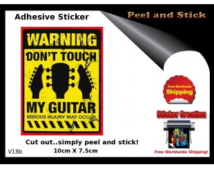 Funny Guitar Stickers