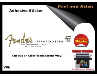 Fender Stratocaster Stickers