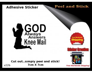 Christian God Stickers