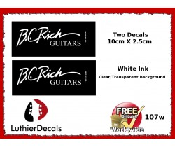 B.C. Rich Guitar Decal #107w
