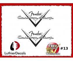Fender Guitar Custom shop Decal #13