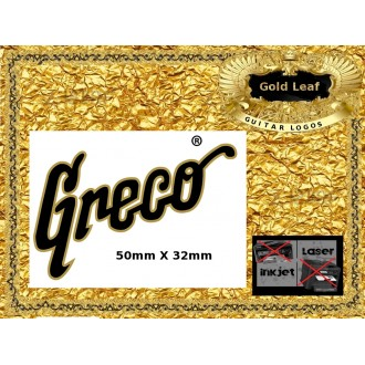 Greco Guitar Decal 132g