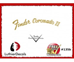 Fender Coronado Guitar Decal #135b