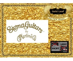 Sigma Guitar by Martin & Co. Guitar Decal 135g